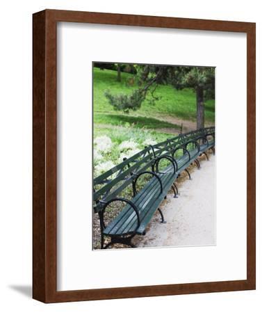 Benches, Central Park, Manhattan