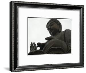 Big Buddha Statue, Po Lin Monastery, Lantau Island, Hong Kong, China by Amanda Hall