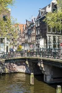 Bridge over Brouwersgracht, Amsterdam, Netherlands, Europe by Amanda Hall