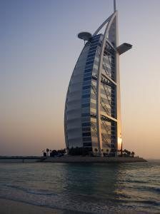Burj Al Arab Hotel, Dubai, United Arab Emirates, Middle East by Amanda Hall