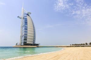 Burj Al Arab Hotel, Jumeirah Beach, Dubai, United Arab Emirates, Middle East by Amanda Hall