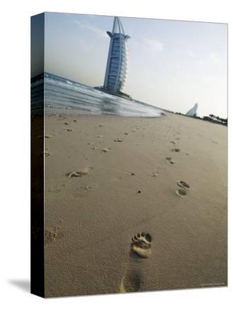 Burj Al Arab Hotel on Jumeirah Beach, Dubai, United Arab Emirates, Middle East
