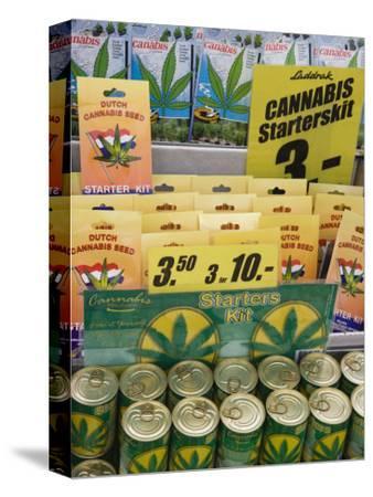 Cannabis Seed Starter Kits, Bloemenmarkt, Amsterdam, Netherlands, Europe