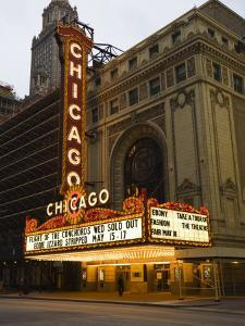 Chicago Theatre, Chicago, Illinois, United States of America, North America by Amanda Hall