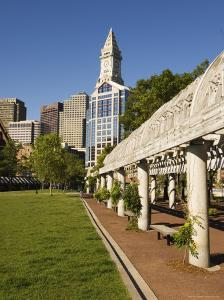 Christopher Columbus Park by the Waterfront, Boston, Massachusetts, New England, USA by Amanda Hall