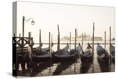 Gondolas Moored on the Lagoon, San Giorgio Maggiore Beyond, Riva Degli Schiavoni