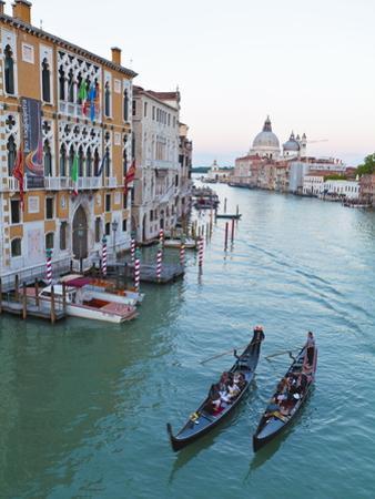 Grand Canal, Venice, UNESCO World Heritage Site, Veneto, Italy, Europe by Amanda Hall