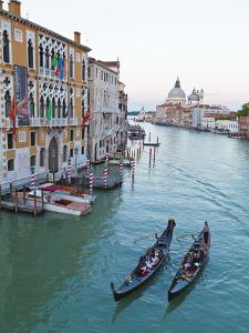 Grand Canal, Venice, UNESCO World Heritage Site, Veneto, Italy, Europe by Amanda Hall