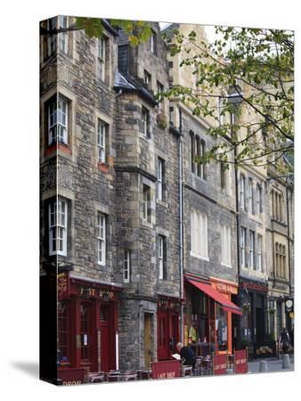 Grassmarket, the Old Town, Edinburgh, Scotland, Uk