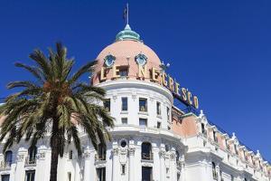 Hotel Negresco, Promenade Des Anglais, Nice by Amanda Hall