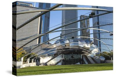 Jay Pritzker Pavilion Designed by Frank Gehry, Millennium Park, Chicago, Illinois, USA
