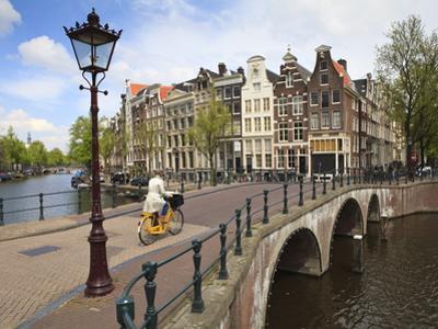 Keizersgracht, Amsterdam, Netherlands, Europe by Amanda Hall