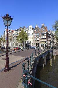 Keizersgracht Canal, Amsterdam, Netherlands, Europe by Amanda Hall