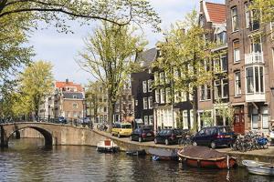 Leliegracht, Amsterdam, Netherlands, Europe by Amanda Hall