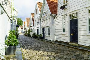 Old Stavanger (Gamle Stavanger) - About 250 Buildings Dating from Early 18th Century, Norway by Amanda Hall