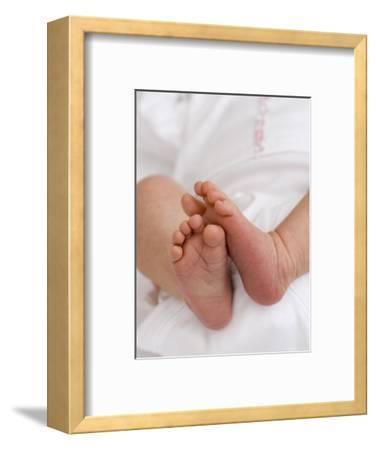One Month Old Newborn Baby Girl