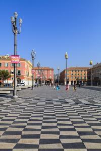Place Massena, Nice, Alpes-Maritimes, Provence, Cote D'Azur, French Riviera, France, Europe by Amanda Hall