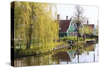Preserved Historic Houses in Zaanse Schans