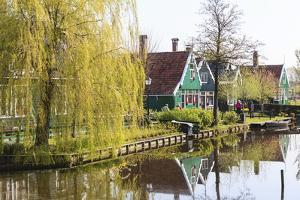 Preserved Historic Houses in Zaanse Schans by Amanda Hall
