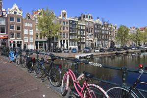 Singel Canal, Amsterdam, Netherlands, Europe by Amanda Hall