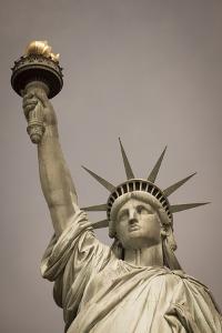 Statue of Liberty, New York, United States of America, North America by Amanda Hall