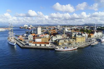 Stavanger Harbour, Norway's Third Largest City and Centre of the Country's Oil Industry, Norway by Amanda Hall