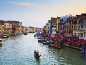 The Grand Canal, Venice, UNESCO World Heritage Site, Veneto, Italy, Europe by Amanda Hall
