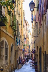 The Old Town, Nice, Alpes-Maritimes, Provence, Cote D'Azur, French Riviera, France, Europe by Amanda Hall