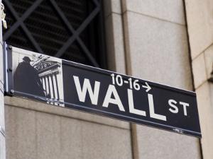 Wall Street Sign Manhattan, New York City, New York, USA by Amanda Hall