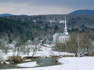 Winter in Stowe, Vermont USA by Amanda Hall