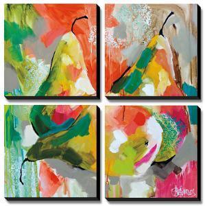 Sunlit Pears by Amanda J^ Brooks