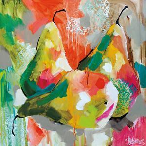 Sunlit Pears by Amanda J. Brooks