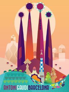 Barcelona Gaudi Spain by Amanda Shufflebotham