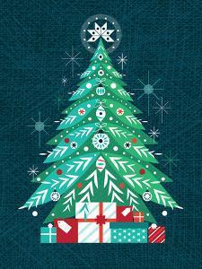 Christmas Tree by Amanda Shufflebotham