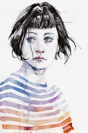 Amanda-Agnes Cecile-Art Print