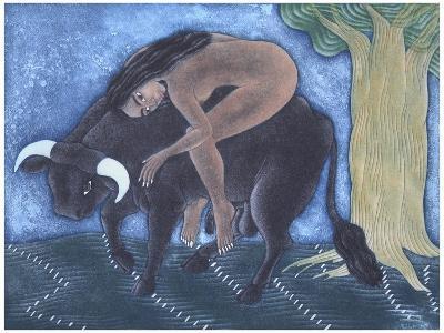 Amante, 2001-Juan Alcazar-Giclee Print
