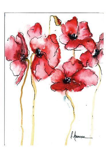 Amapola Roja 3-May May-Art Print
