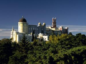 Built in the 1840S, Palacio De Pena in the Hills Above Sintra Is a Deliberate Fantasy of Kitsch by Amar Grover