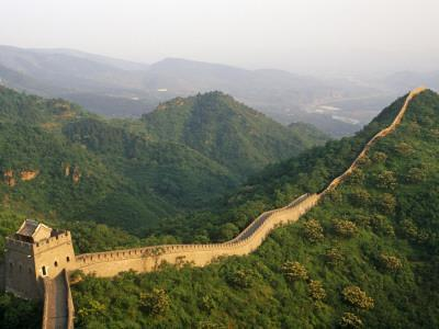 China, Tianjin, Taipinzhai; a Section of China's Great Wall from Taipinzhai to Huangyaguan