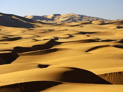 Libya, Fezzan, Edeyen Ubari, Near Ubari