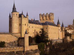 Segovia's Alcazar, or Fortified Palace, Originally Dates from the 14th and 15th Centuries by Amar Grover
