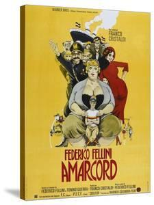 Amarcord, French poster, 1973
