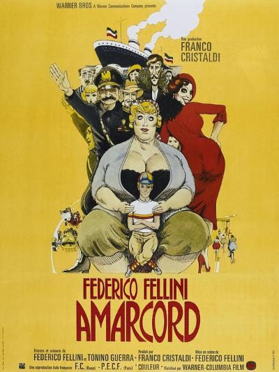 Amarcord, French poster, 1973--Art Print