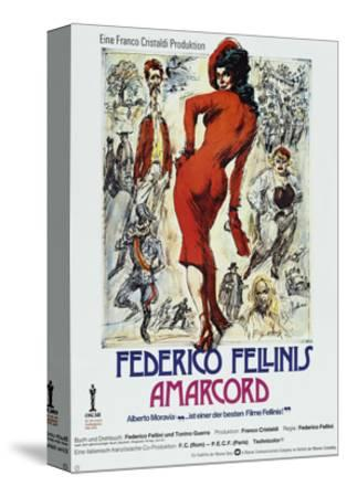 Amarcord, German poster, 1973