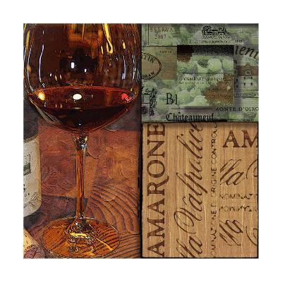 Amarone Wine Night II-Lisa Wolk-Art Print