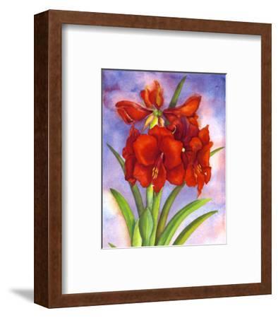 Amaryllis-Jane Edwards-Framed Art Print