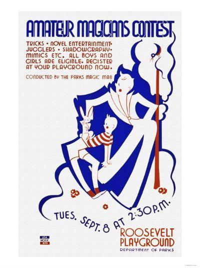 Amateur Magicians Contest--Art Print