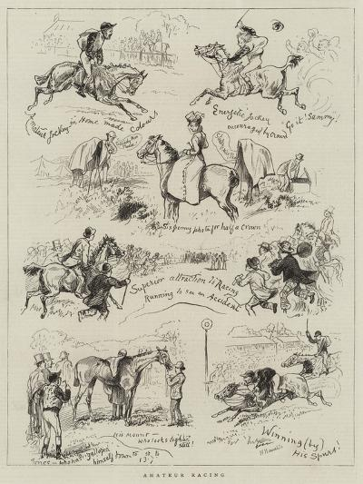 Amateur Racing--Giclee Print