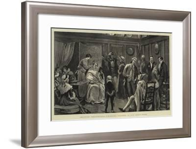 Amateur Theatricals, Finishing Touches in the Green-Room-Joseph Nash-Framed Giclee Print