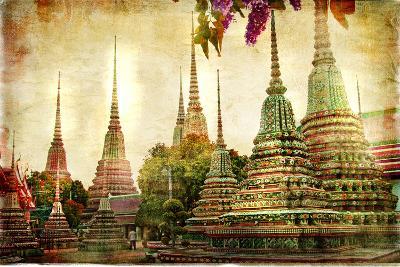 Amazing Bangkok - Artwork In Painting Style-Maugli-l-Art Print